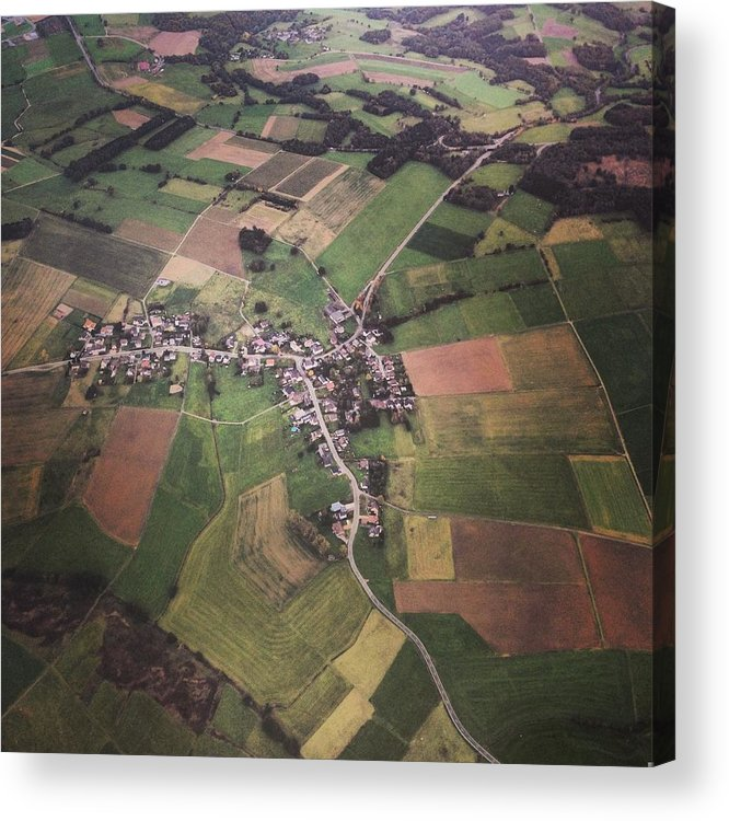Tranquility Acrylic Print featuring the photograph High Angle Aerial View Of Croatia by Yulia Reznikov