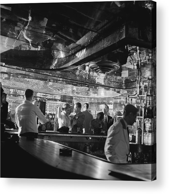 Latin Quarter Acrylic Print featuring the photograph Latin Quarter Bar by Graphic House