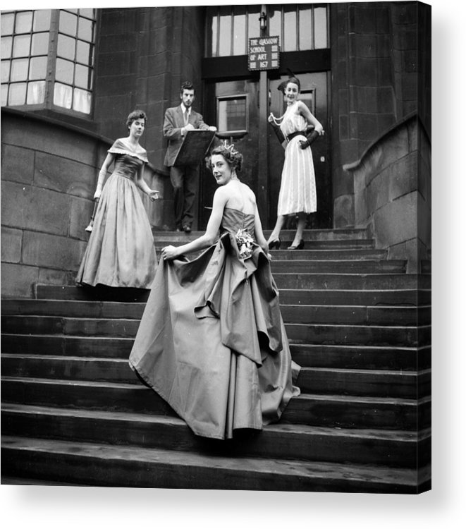 Education Acrylic Print featuring the photograph Student Parade by Haywood Magee