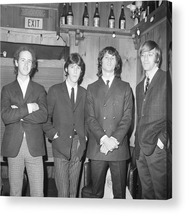 Rock Music Acrylic Print featuring the photograph 1966, Los Angeles, Whisky A Go Go by Michael Ochs Archives