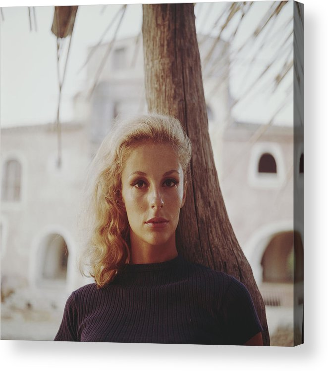 Costa Smeralda Acrylic Print featuring the photograph Dolores Guinness by Slim Aarons