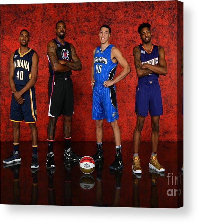 Event Acrylic Print featuring the photograph Nba All-star Portraits 2017 by Jesse D. Garrabrant