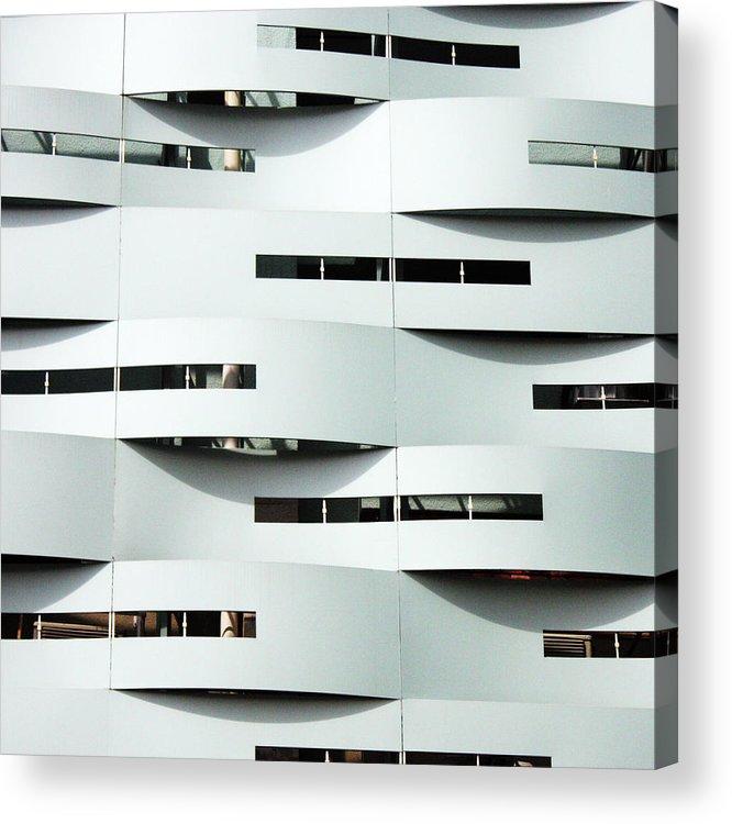 Curve Acrylic Print featuring the photograph Curvilinear by Neaz Ahmed