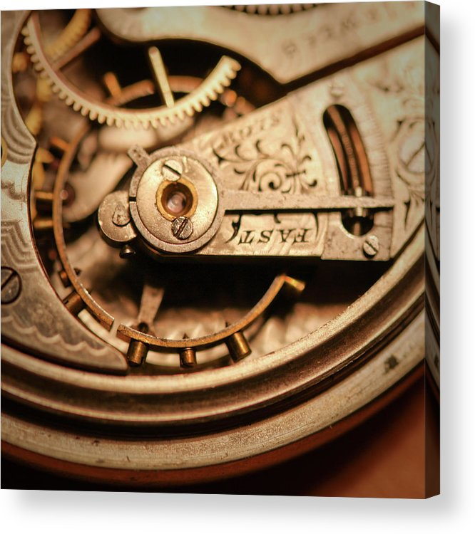 Michigan Acrylic Print featuring the photograph Exposing The Inner Workings And Gears by Rudy Malmquist