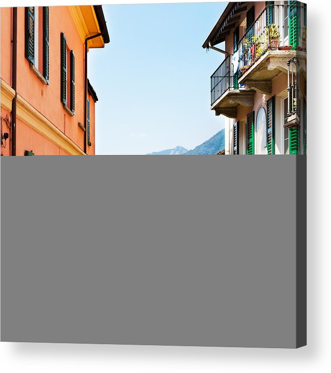 Italian Culture Acrylic Print featuring the photograph Italian Village by Tomml