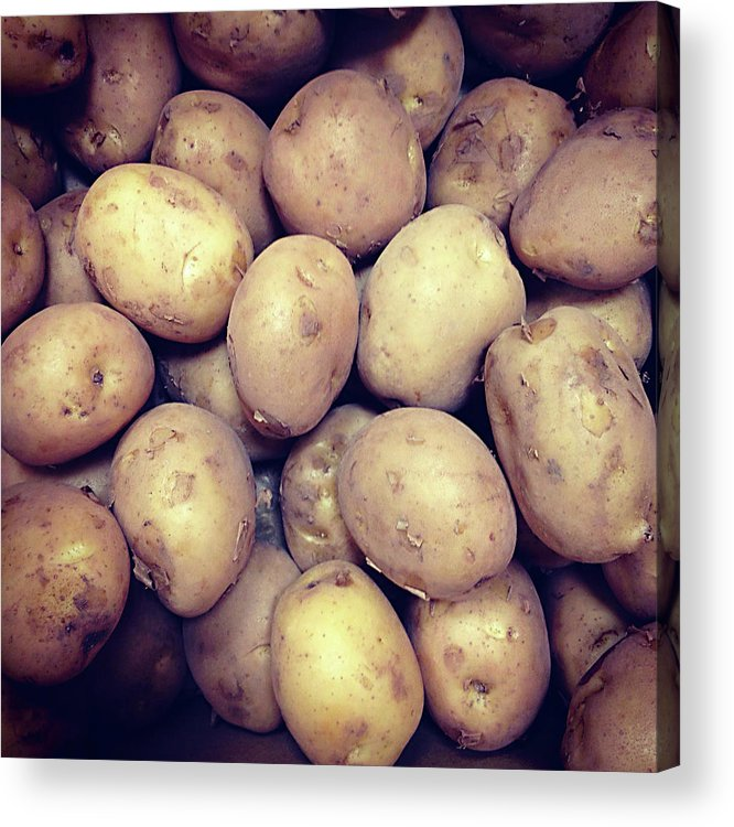 Heap Acrylic Print featuring the photograph Potatoes by Digipub