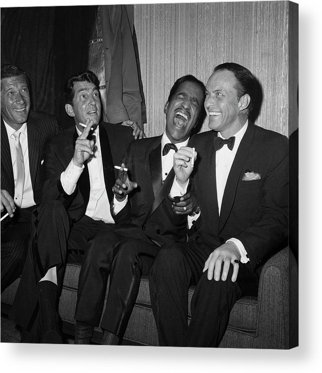 Charity Benefit Acrylic Print featuring the photograph Rat Pack At Carnegie Hall by Bettmann