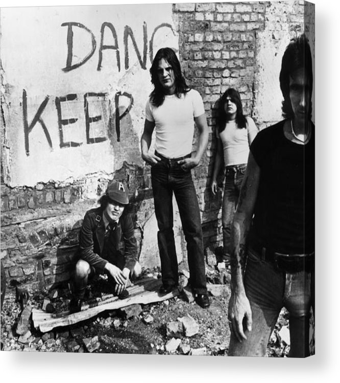 Rock Music Acrylic Print featuring the photograph Sutry Promo by Hulton Archive