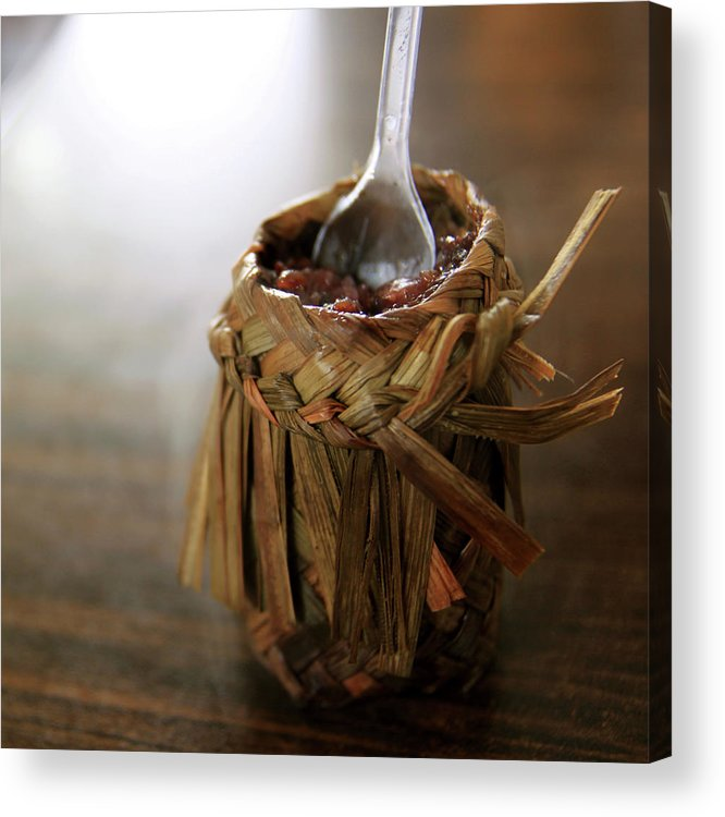 Chinese Culture Acrylic Print featuring the photograph Vanilla Rice by 100