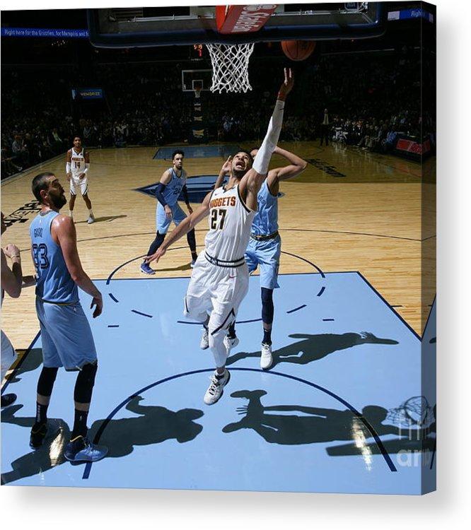 Nba Pro Basketball Acrylic Print featuring the photograph Jamal Murray by Joe Murphy