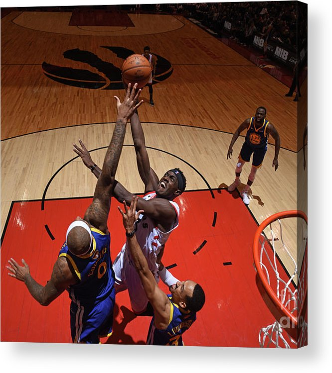 Playoffs Acrylic Print featuring the photograph Pascal Siakam by Garrett Ellwood