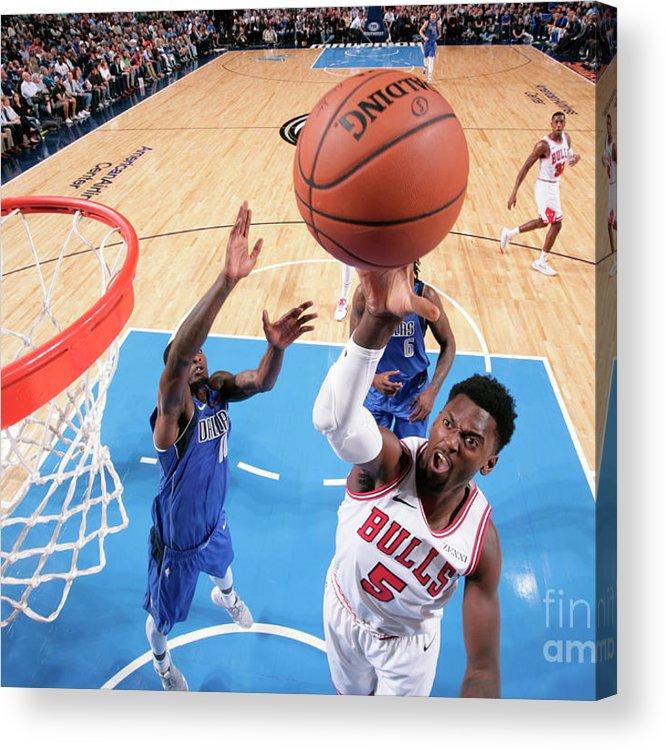 Nba Pro Basketball Acrylic Print featuring the photograph Bobby Portis by Glenn James