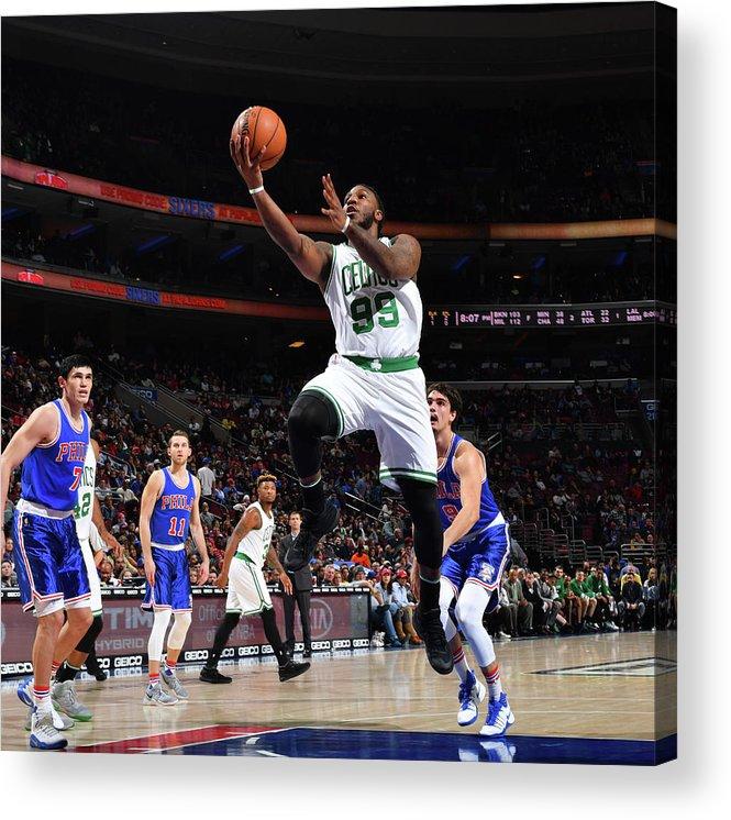 Nba Pro Basketball Acrylic Print featuring the photograph Jae Crowder by Jesse D. Garrabrant