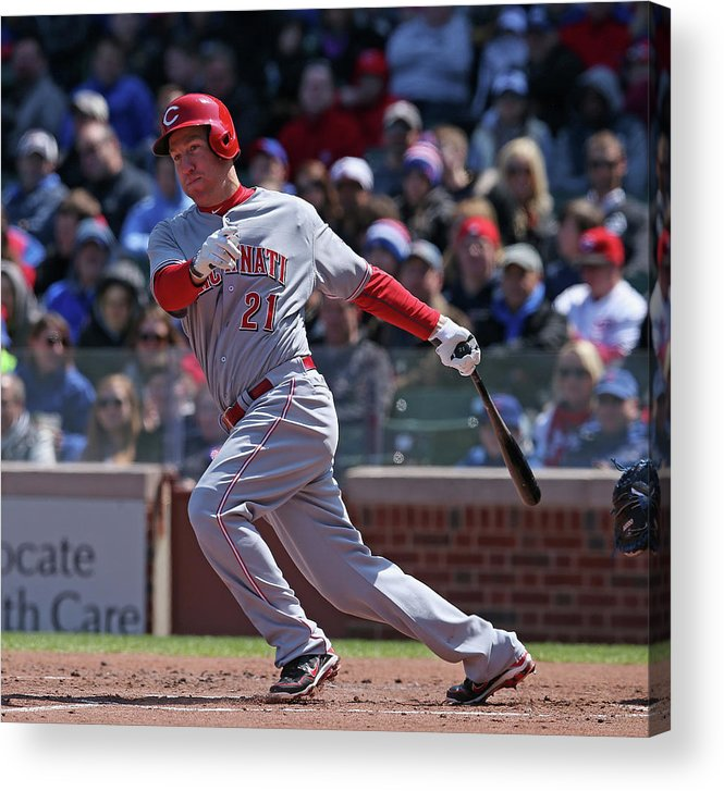 People Acrylic Print featuring the photograph Todd Frazier by Jonathan Daniel