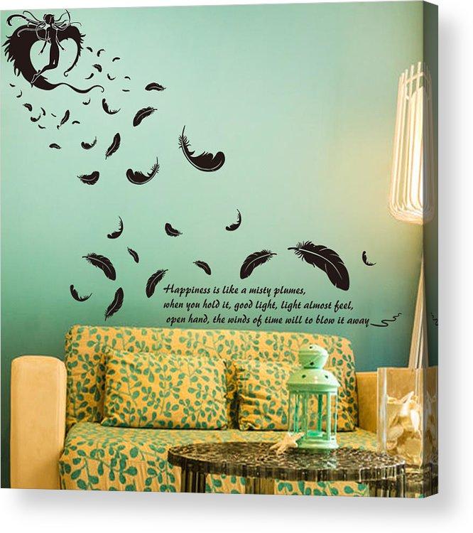 Acrylic Print featuring the digital art Wall art by Wild