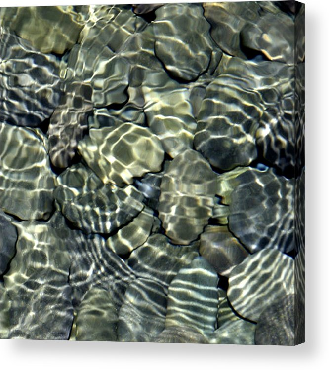 Water Acrylic Print featuring the photograph Water Rocks 2 by Andre Aleksis