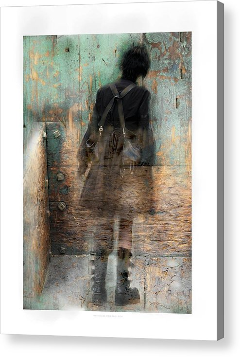 Girl Acrylic Print featuring the photograph Time Passages - Beyond All Barriers by Bob Salo