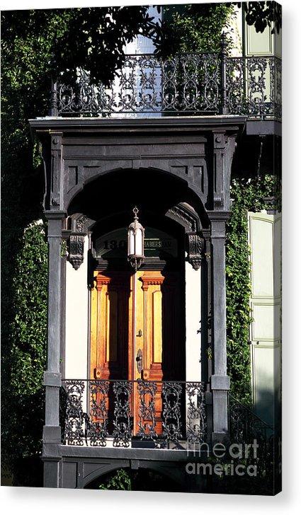 Open Door Acrylic Print featuring the photograph Open Door by John Rizzuto