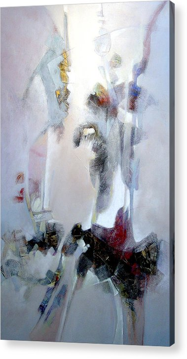 Abstract Acrylic Print featuring the painting Dignity by Dale Witherow