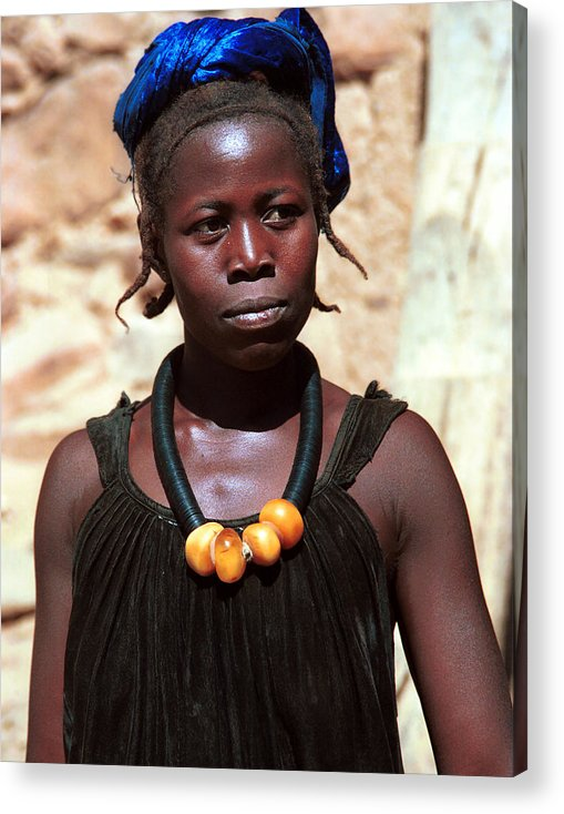 Geography Acrylic Print featuring the photograph Damasongo 1987 by Huib Blom