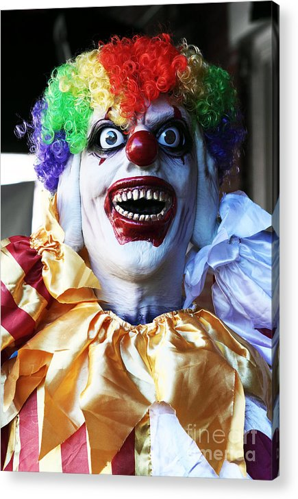 Savannah Acrylic Print featuring the photograph Clown by John Rizzuto