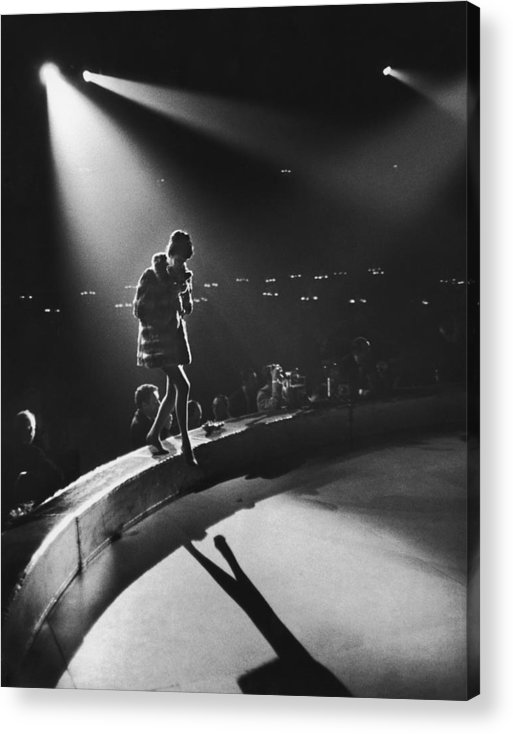 Shadow Acrylic Print featuring the photograph April In Paris Ball by Slim Aarons