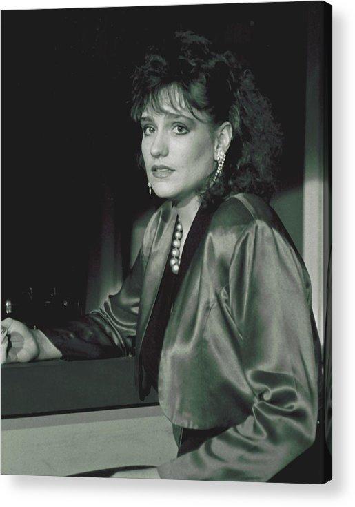 Portrait Acrylic Print featuring the photograph 092508-3  Cheri by Mike Davis
