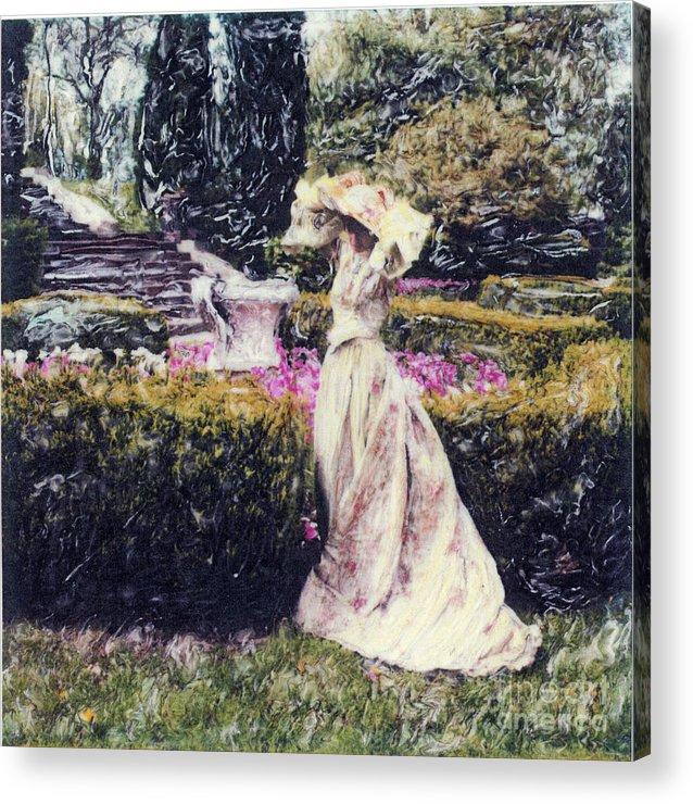Garden Acrylic Print featuring the photograph Wind Through The Gardens by Steven Godfrey