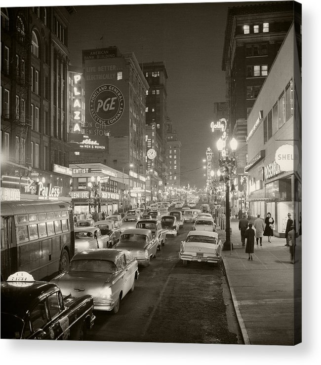 Acrylic Print featuring the photograph Broadway by Unknown
