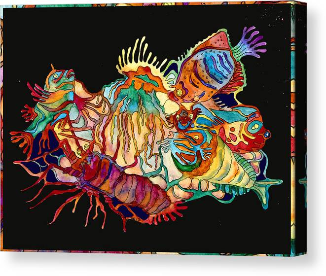 Limited Time Promotion: Sealife2 Stretched Canvas Print