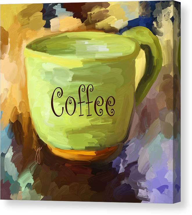 Coffee Cup Canvas Print Canvas Art By Jai Johnson