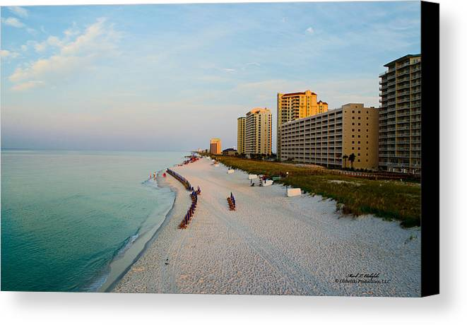 Navarre Beach Canvas Print featuring the photograph 2014 08 05 01 Navarre Beach 100 by Mark Olshefski
