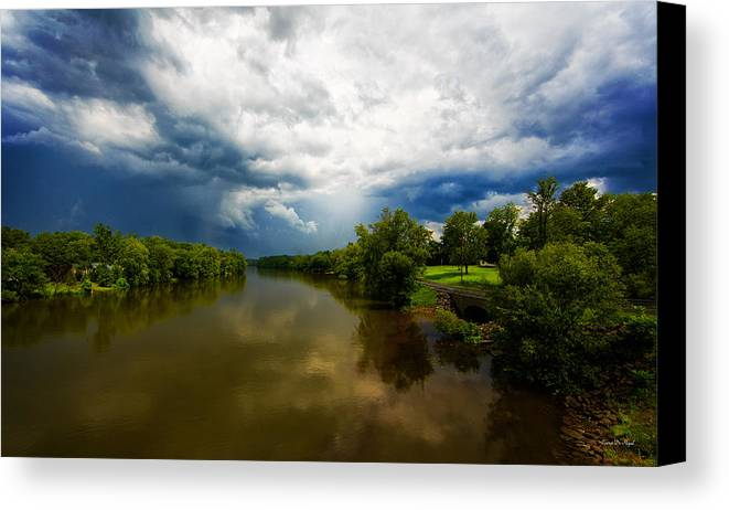 Storm Canvas Print featuring the photograph After The Storm by Everet Regal