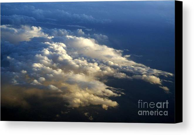 Clouds Canvas Print featuring the photograph Clouds 4 by Jacqueline Russell