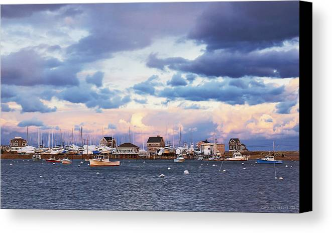 Inner Harbor Canvas Print / Canvas Art by Carol Sutherland
