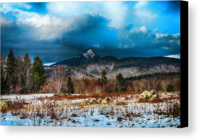 Nh Canvas Print featuring the photograph Chocorua by Mim White