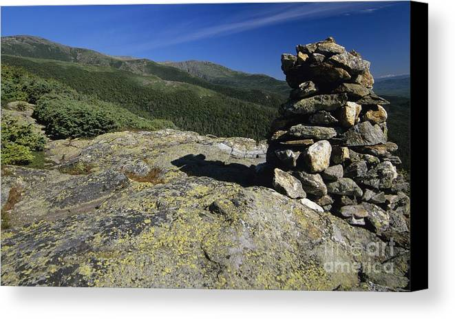 Alpine Zone Canvas Print featuring the photograph Glen Boulder Trail - White Mountains New Hampshire Usa by Erin Paul Donovan