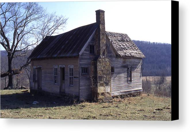 Canvas Print featuring the photograph Old House by Curtis J Neeley Jr