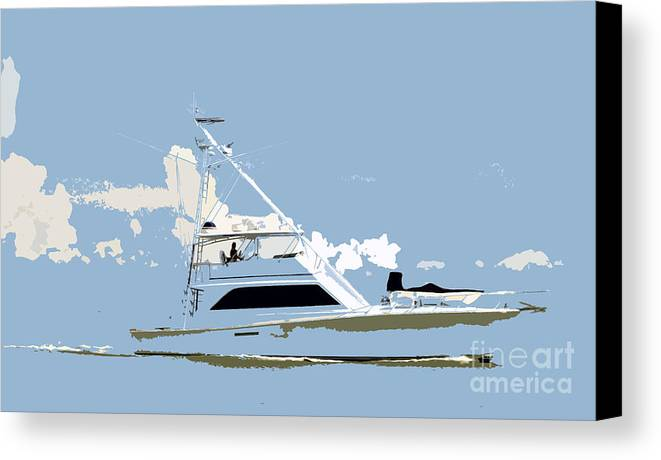 Boat Canvas Print featuring the photograph Summer Freedom by David Lee Thompson