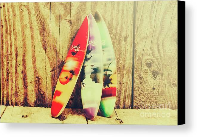 Surfing Still Life Artwork Canvas Print / Canvas Art by Jorgo ...