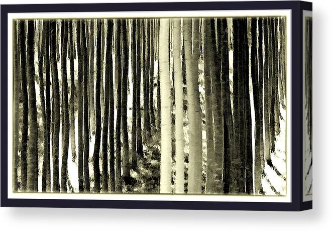 Trees Canvas Print featuring the photograph Trees by Dale Stillman