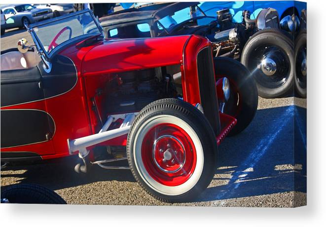 Auto Canvas Print featuring the photograph Random Rod by Chet King