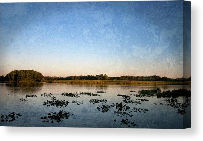 Wingfoot Lake Canvas Print featuring the photograph Wingfoot Lake by Nikki Nisly