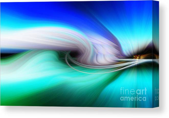 Art Canvas Print featuring the photograph Abstract 0902 P by Howard Roberts