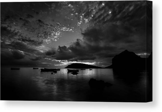 Evening Canvas Print featuring the photograph After The Day The Night Shall Come by Julian Cook