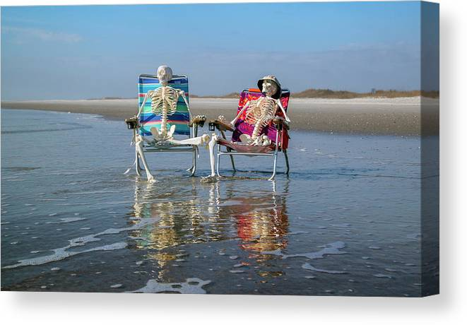 Sciart Canvas Print featuring the photograph What Did You Like Most by Betsy Knapp