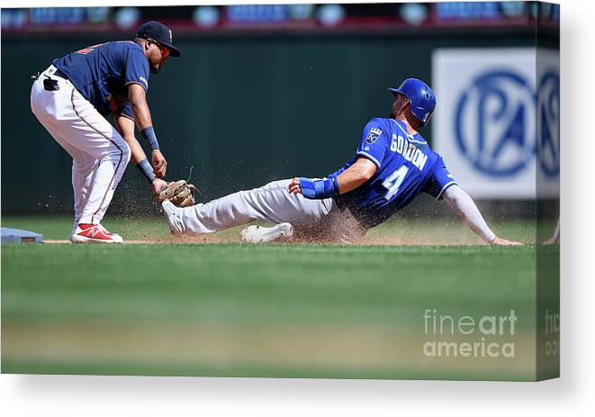 People Canvas Print featuring the photograph Alex Gordon by Hannah Foslien