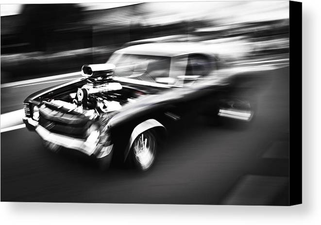 Chevrolet Chevelle Canvas Print featuring the photograph Big Block Chevelle by Phil 'motography' Clark