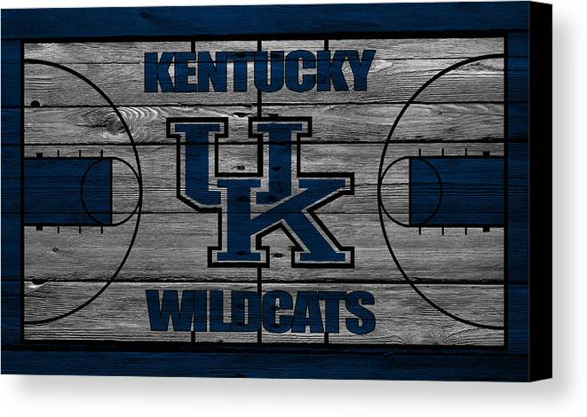 Kentucky Wildcats Canvas Print / Canvas Art by Joe Hamilton