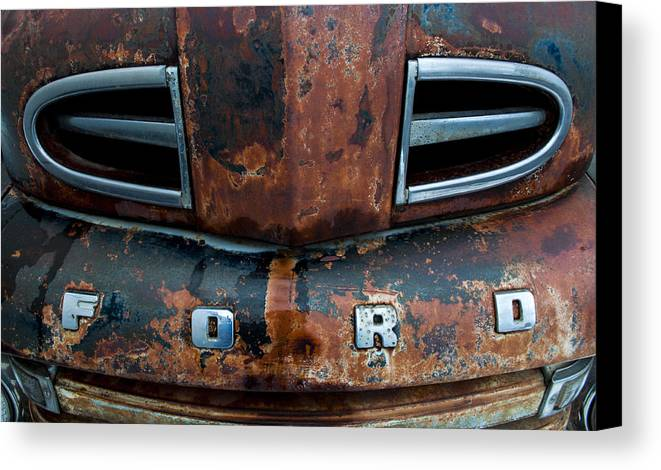 Ford Canvas Print featuring the photograph 1948 Ford by Fran Riley